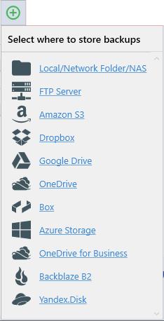 SQLBackupAndFTP - SQL Server, MySQL and PostgreSQL Backups