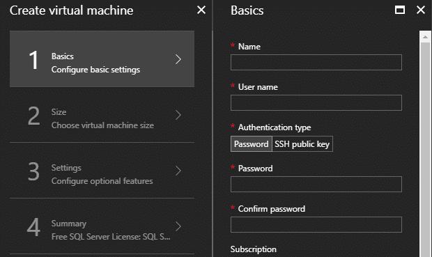 CREATE Basics SQL Ubuntu Microsoft Azure